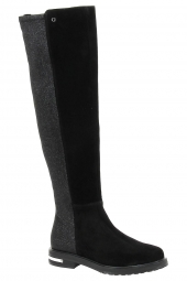 bottes fashion guess flcel3-sue 11 noir
