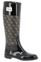 bottes fashion guess sissy2 marron