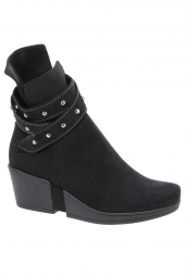 bottines casual hirica cassandra noir