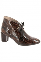 bottines de ville hispanitas hi00687 pirineos marron