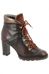 bottines fashion hispanitas hi00639 atlas marron