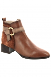 bottines hispanitas hi00645 alpes marron