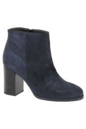 bottines de ville iou 3650 bleu