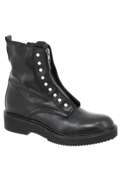 bottines fashion iou 17011 noir