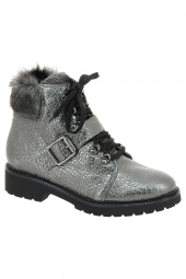 bottines fashion iou 4695 gris