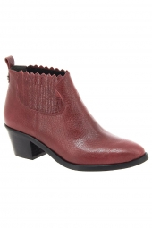 bottines fashion iou 4729 rouge