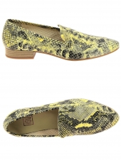 mocassins iou music jaune