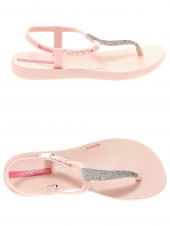 tongs ipanema charm sand ii kids rose