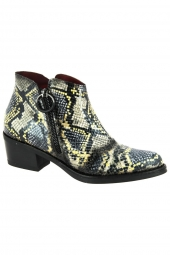 bottines fashion jose saenz 4322 texas jaune