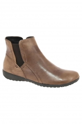bottines casual josef seibel naly 05 marron