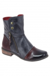 bottines fashion kdopa appoline marron