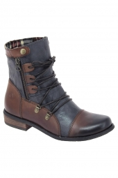 bottines fashion kdopa elly marron