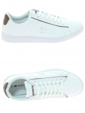 f1651fe8345 baskets mode lacoste carnaby evo 318-7 blanc