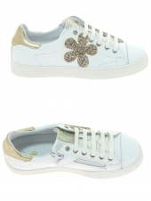 chaussures basses little david daisy 2 blanc