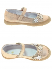 chaussures basses little david lea beige