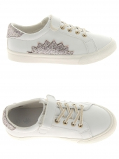 chaussures basses little david misty 1 blanc