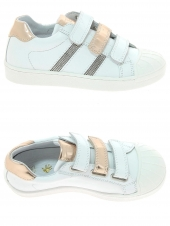 chaussures basses little david molly 3b blanc