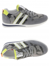 chaussures basses little david nishioka1 gris