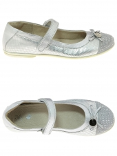 chaussures basses little david sally 2 argent