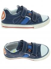 chaussures basses little david sonny bleu