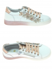 chaussures basses little david tate 1 blanc