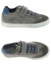 chaussures basses little david tommy gris
