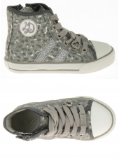 chaussures en toile little david jungle-1 gris