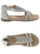 nu-pieds little david fresa gris