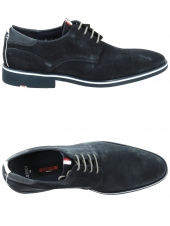 derbies lloyd jersey bleu