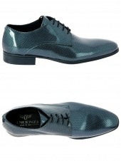 derbies lorenzi 7728-904 bleu