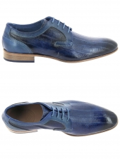 derbies lorenzi 9450 bleu
