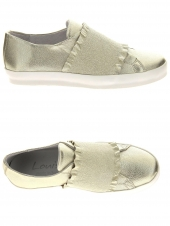 chaussures plates louisa i10 or/bronze