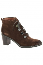 bottines de ville mam'zelle nirva marron