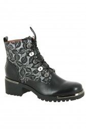 bottines fashion mam'zelle dussac noir