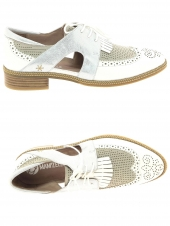 chaussures plates mam'zelle serval blanc