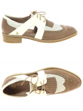 chaussures plates mam'zelle serval taupe