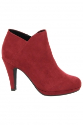 bottines de ville marco tozzi 25329-500 rouge