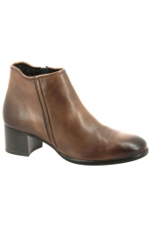 bottines de ville marco tozzi 25348-310 marron