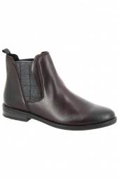 bottines de ville marco tozzi 25366-542 bordeaux
