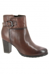 bottines de ville marco tozzi 25372-310 marron