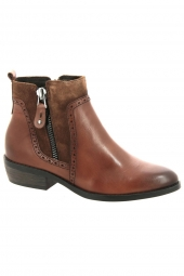 bottines de ville marco tozzi 25393-372 marron