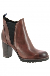 bottines de ville marco tozzi 25823-372 marron