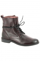 bottines fashion marco tozzi 25133-507 bordeaux