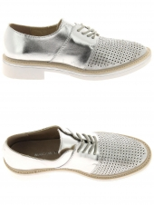 chaussures plates maria mare 66938 argent