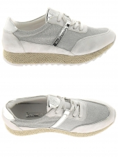 chaussures plates maria mare 66993 argent