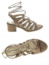 nu-pieds style ville maria mare 66750 or/bronze