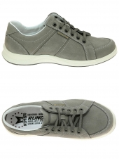 chaussures de style casual mephisto hero sportbuck gris