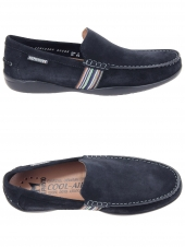 chaussures de style casual mephisto idris bleu