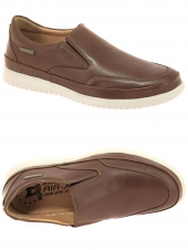 chaussures de style casual mephisto twain marron