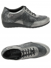 chaussures plates mephisto mobils jacinte gris
